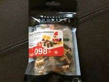 nanoblock #098 santa claus & reindeer
