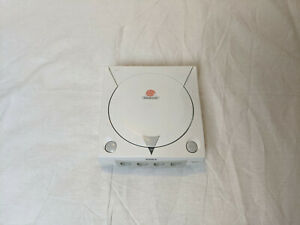SEGA Dreamcast OEM Shell Top and Bottom Covers. Cut holes. For parts/restoration
