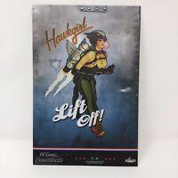 DC Comics Bombshells Hawkgirl 8x12 Lithographic Print