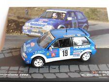 Citroen AX GTI #19 Lacs Monte-carlo 1993 Driano Lallement 1 43 Altaya