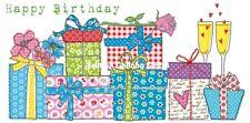 *CAROLA PABST*Postkarte XXL*Geburtstag*Geschenke*Happy Birthday*11,5 x 23cm**