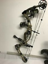 Hoyt Katera Compound Bow with quiver, sight, and balance