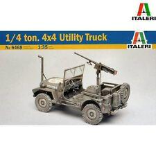 ITALERI 6468 1/4 tonne 4x4 Utility Truck 1/35 scale model kit