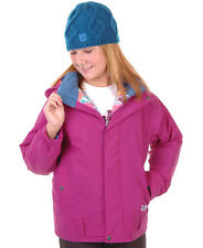 Burton Reflex Jacket Girls Snowboard Ski Waterproof Insulated Purple L
