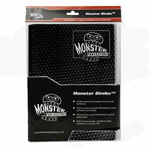 Monster Binder - 9 Pocket Trading Card Album - Holofoil Black - Holds 360