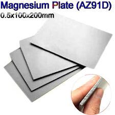 "AZ31B 1pcs 20mm X100mm X100mm (0.79/""x3.9/""x3.9/"") Magnesium Alloy Sheet Plate Foil"