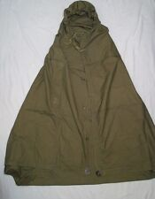 Soviet Russian Army soldiers cape-tent poncho WW2 type