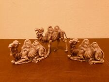 New ListingFontanini Camels, Made in Italy, Nativity, Seated and Standing, Collectible