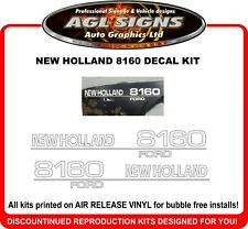 New Holland 8160 Tractor Reproduction DecaL Kit
