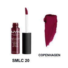 NYX Cosmetic Soft Matte Lip Cream Liquid Gloss Lipstick Long Lasting Copenhagen