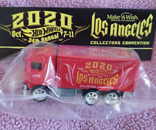 Hot Wheels 2020 34th Convention Charity Bingo Hiway Hauler (Red)