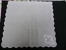 6 serviettes vintage