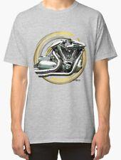 Yamaha Roadstar warrior engine Vintage Motorcycle T Shirt INISHED Productions