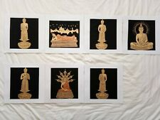 Art Silk Screen Picture Wall Home Decor Handmade Gift Buddha #19