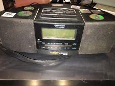Timex T 456B AM/FM Stereo Digital Twin Alarm Clock