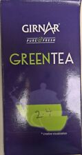 New Fresh 25 Tea Bags Girnar 100% Natural Organic Green Tea USDA CERTIFIED