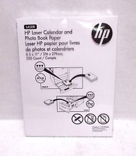 HP Laser Calendar & Photo Book Paper CG933A Glossy 8.5x11 - 200 Sheets ~Sealed~