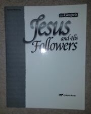 A BEKA The Gospels -- JESUS & HIS FOLLOWERS Test/Quiz/Review KEY very GOOD cond.