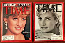 Lot of 2 Time Magazines - September 1997 - Princess Diana