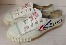 Tiger Claw Feiyue Martial Arts Shoes - White (Eur 32/Child 1)