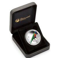 2013 BIRDS OF AUSTRALIA RAINBOW LORIKEET 1/2oz Silver Proof Coin