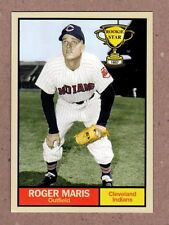 Roger Maris '57 Cleveland Indians Rookie Stars series #1 Monarch Corona