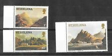 St Helena 1982 Aquatints and Lithographs Cream paper issues MNH/UMM