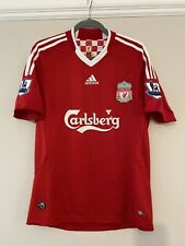 2008-10 Liverpool Home Shirt - Small -*YNWA 96 On Back + Arm Patches*