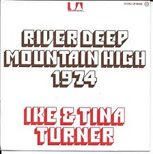 "45 TOURS / 7"" SINGLE--IKE & TINA TURNER--RIVER DEEP MOUNTAIN HIGH--1973"
