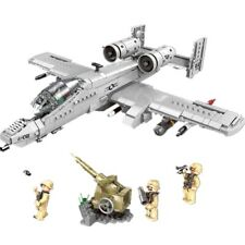 Thunderbolt II A10 Attack Aircraft Building Blocks Toy Warthog Bricks 961pieces