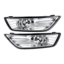 2x For Ford Mondeo Fusion 2007-2010 Front Left Right Side Fog Light Cover Bulbs