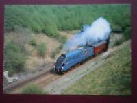 POSTCARD LNER RECORD BREAKING A4 PACIFIC LOCO NO 4468 'MALLARD'