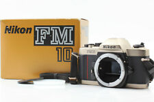 [EXC+++++ in Box] Nikon FM10 35mm SLR Film Camera Body Only From Japan #00051