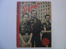 1943 WWII revue de propagande militaria n° 1 de octobre French issue