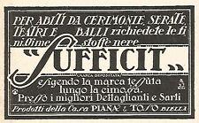 W2148 SUFFICIT Stoffe per abiti da cerimonia - Pubblicità del 1928 - Vintage ad