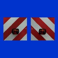 SET Zierleiste und Einlage rot Länge 125cm passend für Eicher Hatz   16098 16099
