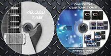 3.342 Patches DIGITECH. RP50-RP80-R70-RP90-RP100A-RP200A-RP300A & 48.328 G.TAB