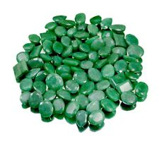 500ct 79pc Natural Green Emerald Faceted Loose Gemstones Wholesale Lot