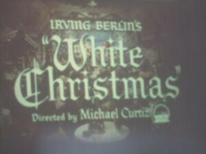 WHITE CHRISTMAS TRAILER SUPER 8 COLOUR SOUND 100FT 8MM FILM CINE