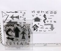 ❤ Papertrey Ink Get to the Point Stamp & Coordinating Die Set Vol. 4 No. 33 ❤