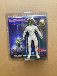 NECA Iron Maiden World Slavery Tour 84-85 Clothed Retro Mummy Eddie Figure
