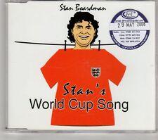(GT649) Stan Boardman, Stan's World Cup Song - 2006 DJ CD