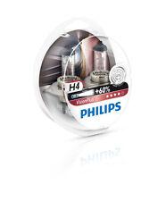 PHILIPS H4 12V 55/60W VISION PLUS +60% 2 pièces Kit 12342VPS2