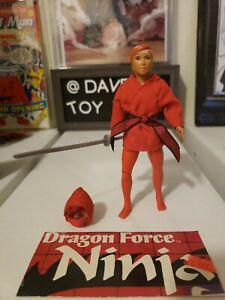 Dragon Master Dragon Force Action Figure Lanard Toys BLACK NINJA 1985 Vintage