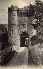 Isle of Wight England Ärmelkanal ~1910 Carisbrooke Castle Woodville Gateway Burg