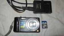 Panasonic LUMIX DMC-TZ25 Digital Camera, Lumix Charger & 8gb Memory Card