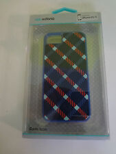 X-Doria Dash Icon Plaid Blue Phone Case for iPhone 5S/5 - NEW ***FAST S/H***