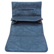 black tobacco pouch case wallet purse rolling cigarette new!!!