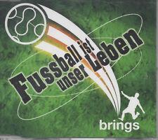 Brings Fussball ist unser Leben Maxi CD  wie neu Su lang mer noch am Lääve sin