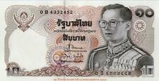 Thailand 10 baht Commemaorative Banknote 1995 UNC